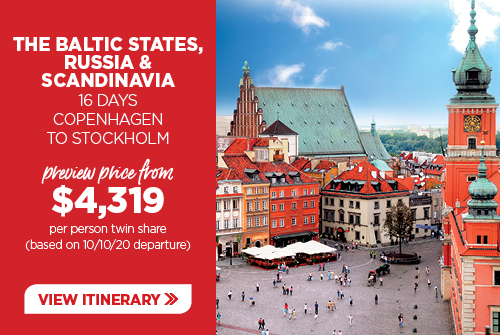 16 day Baltic States, Russia & Scandinavia