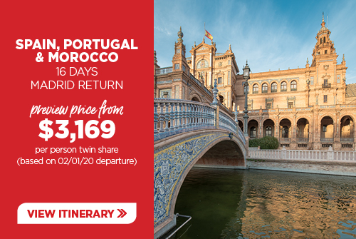 16 day Spain, Portugal & Morocco
